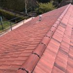 new tiled roof system